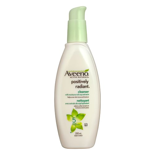 Image for Aveeno Active Naturals Positively Radiant Cleanser - 200mL from DDS