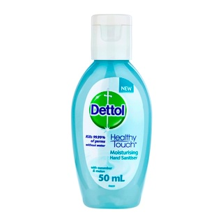 Image for Dettol Healthy Touch Moisturising Hand Sanitiser with Cucumber and Melon - 50mL from DDS