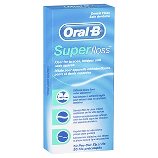 Image for Oral-B Super Floss - 50 Strands from DDS