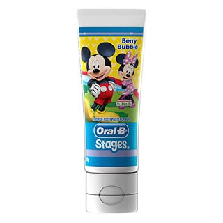 Image for Oral-B Stages Toothpaste Berry Bubble - 92g from DDS