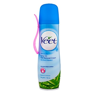 Image for Veet Spray On Hair Removal Cream Sensitive - 150ml from DDS