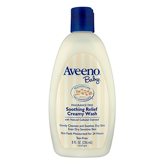 Image for Aveeno Baby Soothing Relief Creamy Wash Fragrance Free - 236mL from DDS