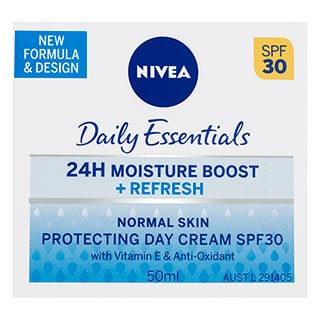 Image for Nivea Daily Essentials Light Moisturising Day Cream SPF30+ - 50mL from DDS