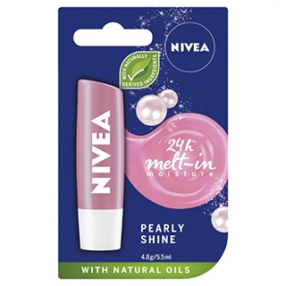 Image for Nivea Lip Care Pearly Shine SPF10 - 4.8g from DDS