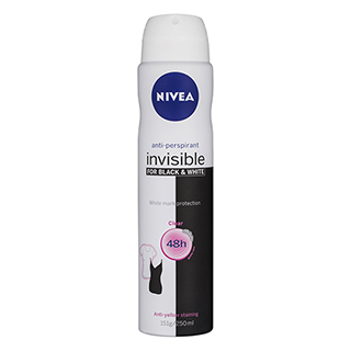 Image for Nivea Deodorant Invisible Black & White - 250mL from DDS
