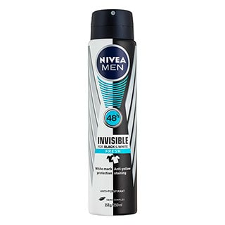 Image for Nivea Men Invisible for Black and White Fresh - 250mL from DDS