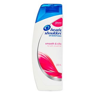 Image for Head & Shoulders Smooth & Silky Shampoo - 200mL from DDS
