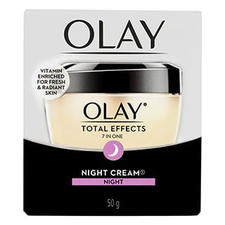 Image for Olay Total Effects 7 in One Night Cream Moisturiser - 50g from DDS