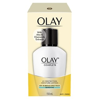Image for Olay Complete UV Defence SPF 15 Moisturising Lotion Sensitive - 150mL from DDS