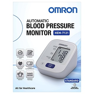 Image for Omron Digital Blood Pressure Monitor HEM-7121 from DDS