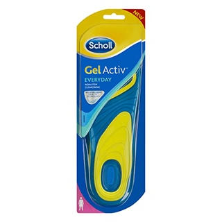 Image for Scholl Gel Activ Insoles Everyday - Women from DDS