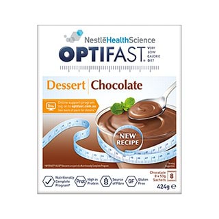 Image for Optifast VLCD Chocolate Desserts - 8 Pack from DDS
