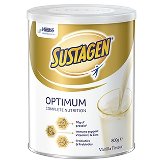 Image for Sustagen Optimum - 800g from DDS