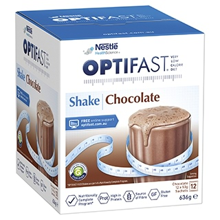 Image for Optifast VLCD Chocolate Shake - 12 x 53g Sachets from DDS