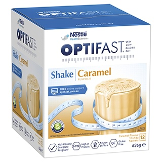 Image for Optifast VLCD Caramel Shake - 12 x 53g Sachets from DDS