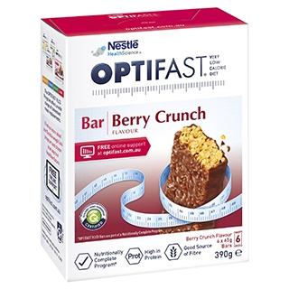 Image for Optifast VLCD Bars Berry Crunch - 6 Pack from DDS