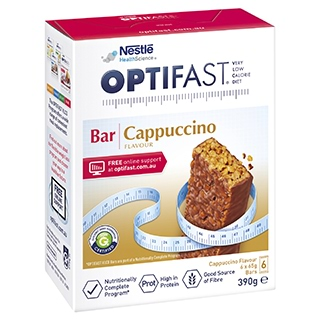 Image for Optifast VLCD Bars Cappuccino - 6 Pack from DDS