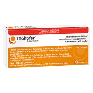 Image for Maltofer - 30 Tablets from DDS