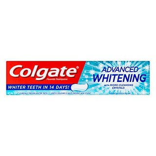 Image for Colgate Advanced Whitening Toothpaste - 190g from DDS
