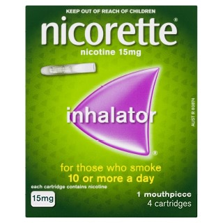 Image for Nicorette Inhalator 15mg - 4 Pack from DDS