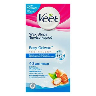 Image for Veet Sensitive Wax Strips - 40 Pack from DDS