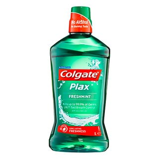 Image for Colgate Plax Mouthwash Freshmint - 1L from DDS
