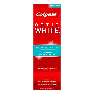 Image for Colgate Optic White Enamel White Toothpaste - 95g from DDS