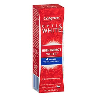 Image for Colgate Optic White High Impact White Toothpaste Glistening Mint - 85g from DDS