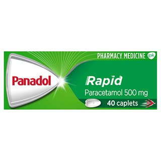 Image for Panadol Rapid - 40 Caplets from DDS