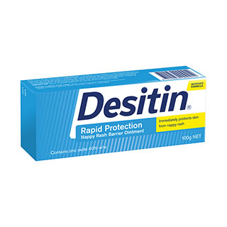 Image for Desitin Nappy Rash Ointment - 100g from DDS