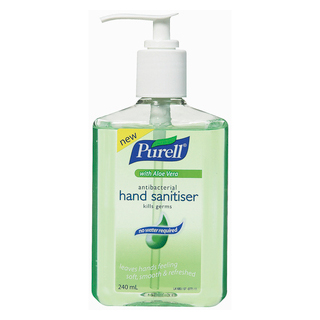 Image for Purell Antibacterial Hand Sanitiser with Aloe Vera Pump - 240mL from DDS