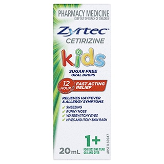 Image for Zyrtec Kids Oral Drops - 20mL from DDS