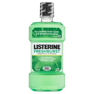Image for Listerine Freshburst Mouthwash - 500mL from DDS