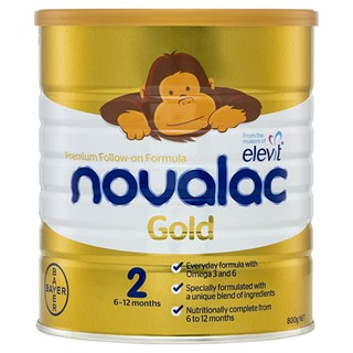 Image for Novalac Gold Stage 2 Premium Infant Formula Powder - 800g from DDS