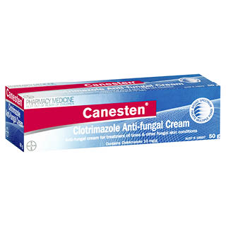 Canesten Anti Fungal Cream 50g Dds