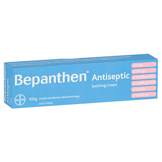 Image for Bepanthen Antiseptic Soothing Cream 100g from DDS