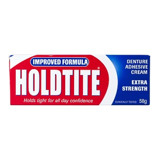 Image for Holdtite Extra Strength Denture Adhesive Cream - 60g from DDS