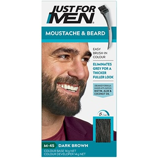 Image for Just for Men Brush-in Gel Moustache & Beard - Dark Brown from DDS