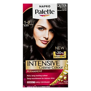 Image for Napro Palette 1-0 Black Hair Colour from DDS
