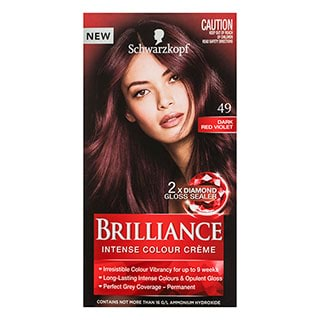 Image for Schwarzkopf Live Brilliance 49 Dark Red Hair Colour from DDS