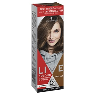 Image for Schwarzkopf Live Colour Hazelnut 75mL from DDS