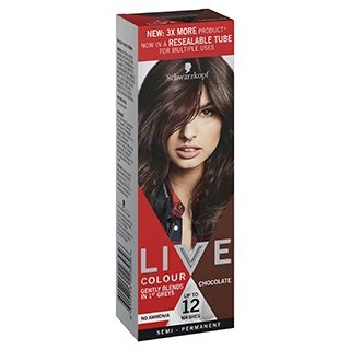 Image for Schwarzkopf Live Colour Chocolate 75mL from DDS