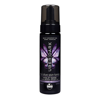 Image for Le Tan Uber Dark Tanning Foam Violet Base - 200mL from DDS