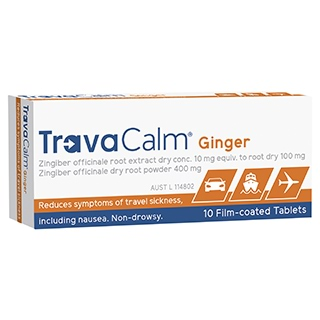 Image for Travacalm Natural Tablets - 10 Tablets from DDS