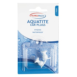 Image for SurgiPack Aquatite Earplugs - 1 Pair from DDS