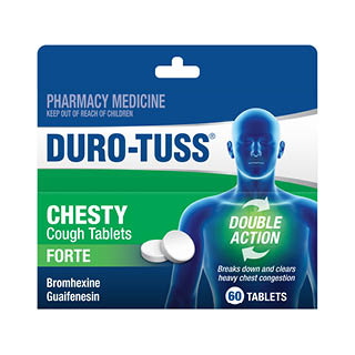 Image for Duro-Tuss Chesty Forte - 60 Tablets from DDS