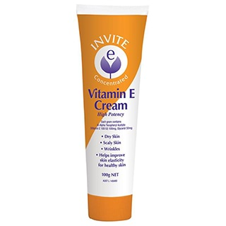 Image for Invite E Vitamin E Cream - 100g from DDS