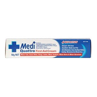 Image for Medi-Rub Quattro First Aid Cream - 50g from DDS