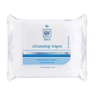 Image for Ego QV Face Cleansing Wipes - 25 Pack from DDS
