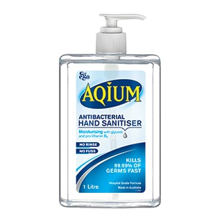 Image for Aqium Antibacterial Hand Sanitiser Gel - 1L from DDS